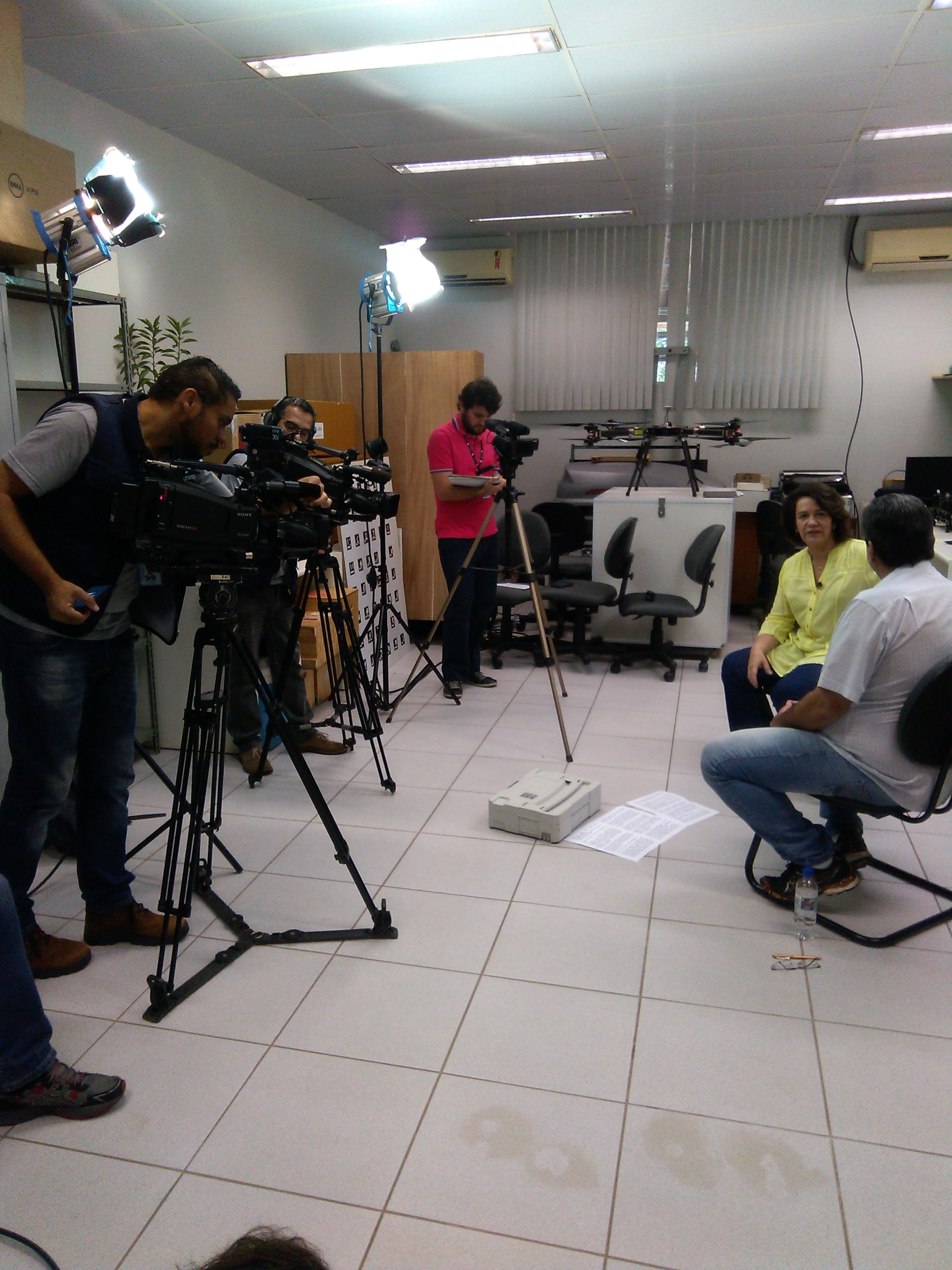 SERTIE é entrevistado pela TV UNESP